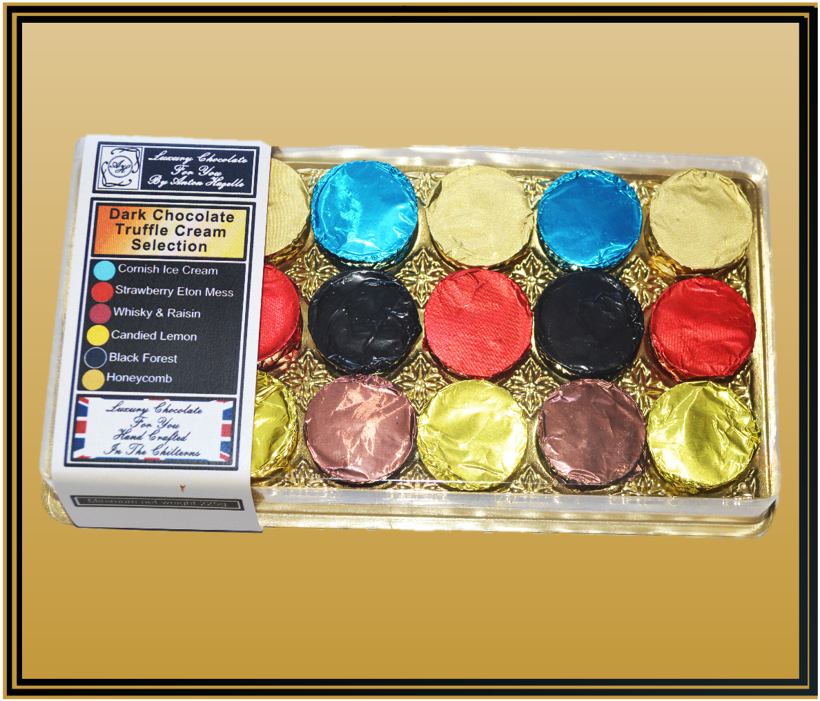 18 Dark Truffle Cream Selection Luxury Chocolates