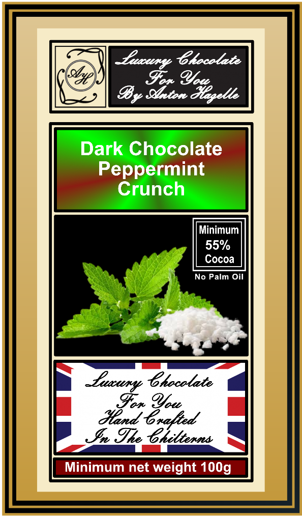 55% Dark Chocolate Peppermint Crunch