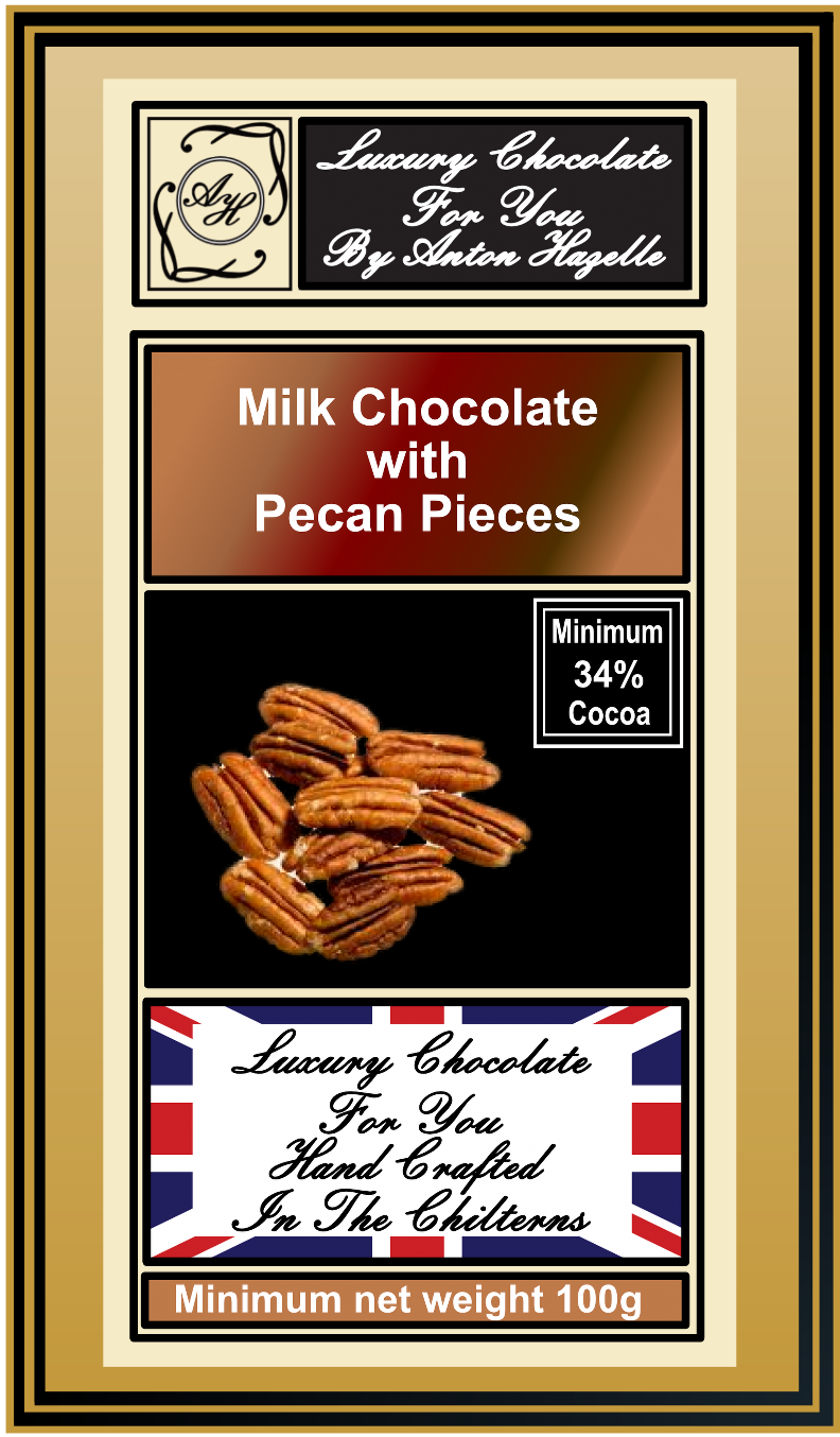34% Milk Chocolate with Pecan Pieces